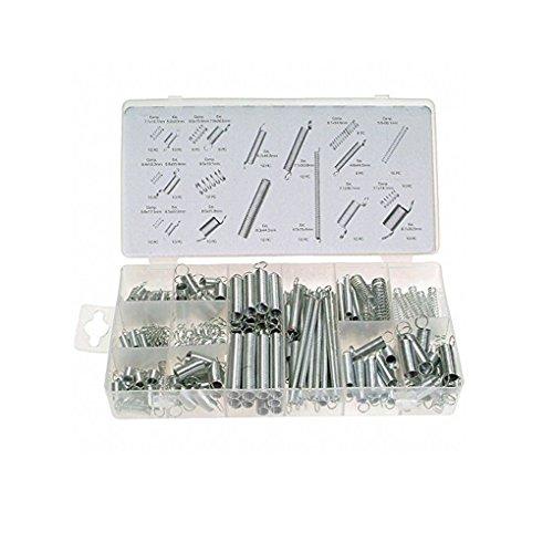 Topker 200PCS Metall Stahlfeder Elektrische Hardware Spring Set Drum Erweiterung Zugfedern Druck Sortiment Kit