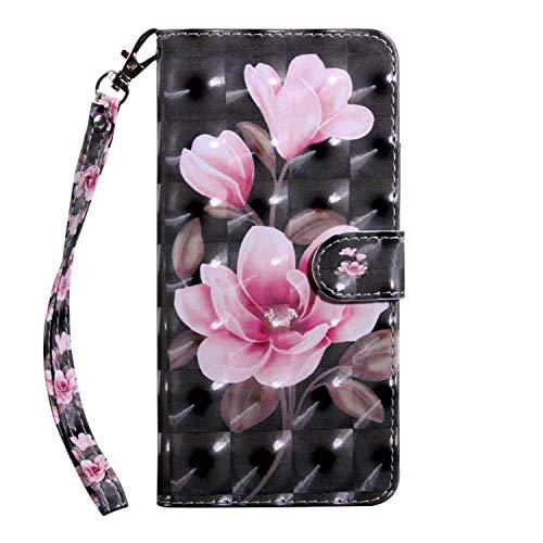 vingarshern Hülle für CUBOT X16 S Schutzhülle Tasche Etui Klappbares Magnetverschluss Lederhülle Flip Case Handytasche CUBOT X16S Hülle Leder Brieftasche MEHRWEG(Magnolie-1)