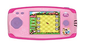 Disney Princesas JL2360DP-1 Princesas Consola portátil con 120 Juegos, Color Rosa (Lexibook