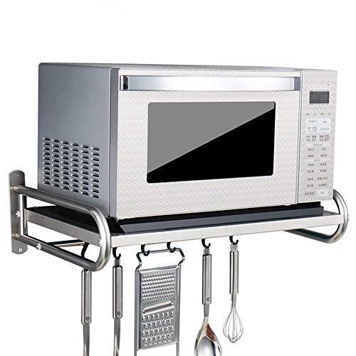 304 Edelstahl Mikrowelle Rack/Küche Regale (Größe: 53 * 38 * 18cm)