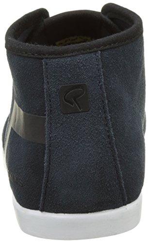 Redskins Zelek, Sneaker Alte Uomo Bleu (Marine+Noir)