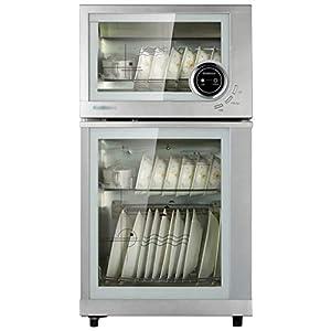 MXRqndqa Wärmegeräte Desinfektionsschrank nach Hause vertikale kleine Küche hoher Kapazität Desinfektionsschrank