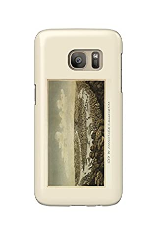 Pittsburgh, Pennsylvania - (1874) - Panoramic Map (Galaxy S7 Cell Phone Case, Slim Barely There)