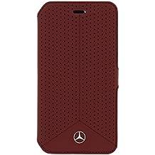 Mercedes-Benz Biblioteca Cuero Perforado Rojo, Línea Pura De G920 Galaxy S6 Meflbks6Pere, Ampolla
