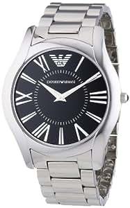 Emporio Armani Herren-Armbanduhr XL Analog Quarz Edelstahl AR2022