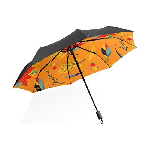 Totes Großschirm Maple Leaf Farbe Romantische Tragbare Kompakte Taschenschirm Anti Uv Schutz Winddicht Outdoor Reise Frauen Spaß Regenschirm Kinder -