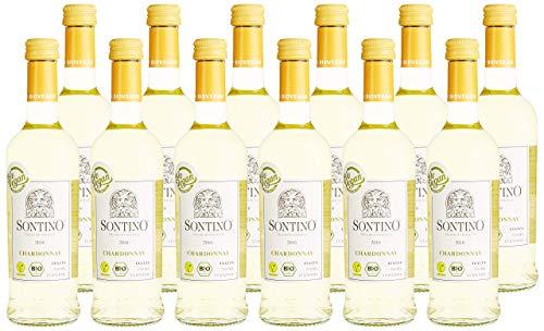 Sontino Chardonnay BioVegan Halbtrocken (12 x 0.25 l)