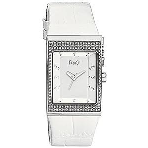 Dolce & Gabbana IDE Strass SLV DIAL WTE Strap DW0155 – Reloj