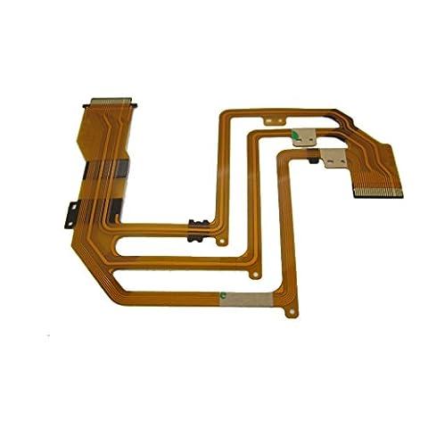 Feicuan LCD Flex Cable Ribbon Repair pour Son DCR-SX30E SX31E