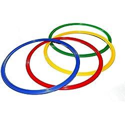Agility Hundesport - 4er Set Ringe / Reifen Ø 70 cm, 4 Farben