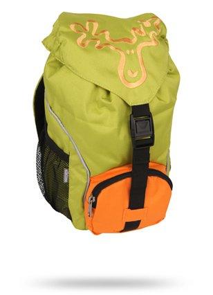 Elkline ruckizucki Kinderrucksack Größe: OneSize Farbe: limegreen - orange