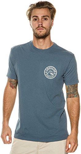 Quiksilver -  T-shirt - Uomo Indian Teal