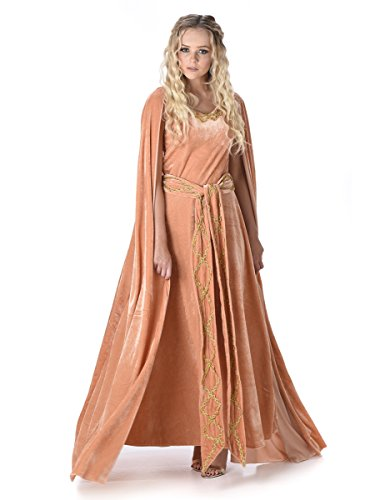 Medieval Queen Cersei Ladies Fancy Dress Game Of Thrones Womens Adult Costume
