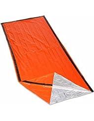 IZoeL Bivvy Bag Emergency Sleeping Rescue Lightweight High Vis Waterproof Reusable Must Have