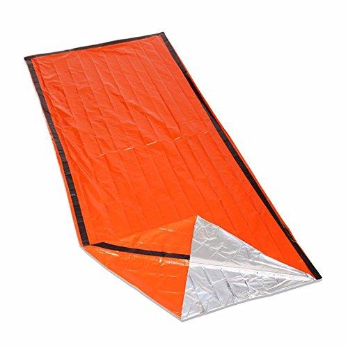 iZoeL Bivi Biwaksack Schlafsack Notfall Ultraleicht Wasserdicht für Camping Trekking