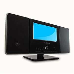 """Sigmatek HFDL-1072 Mini-Chaîne Hi-fi avec Lecteur DVD/DivX Ecran LCD 7"""" Tuner TNT Lecteur de cartes SD 4 W USB"""