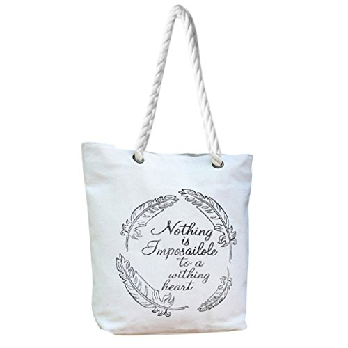 Tela spalla borse, donna mori stile mano borse spalla dipinta capacità donne Canvas borse di Kangrunmy H