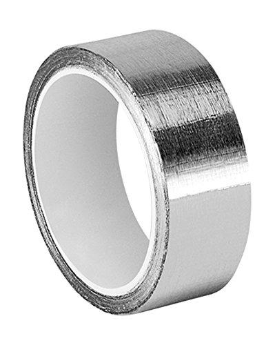tapecase 1–6-1120Silber Aluminium-Klebeband mit ableitfähigem Acryl-Klebstoff, 1973von 3M 1120, 6Yd. Länge, 2,5cm Breite, Rolle