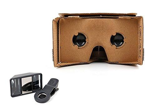 DURAGADGET Für Sony Xperia XZs | XA1 Plus | XZ1 | Z | Z4/Z3+ | M4 Aqua: VR-Brille Virtuelle...