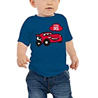 Disney Baby Boys Cars T-Shirt, Blue, 18-24 Months