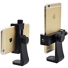 Universal Smartphone trípode adaptador, apore teléfono celular soporte adaptador para iPhone/Samsung Galaxy/Google Nexus, uso de 1/4–20trípode Monopod, Selfie Stick,