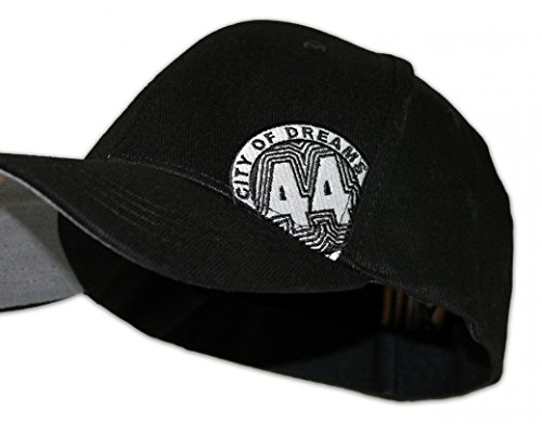 Forty Four Cap 44 Classico, Farbe:schwarz