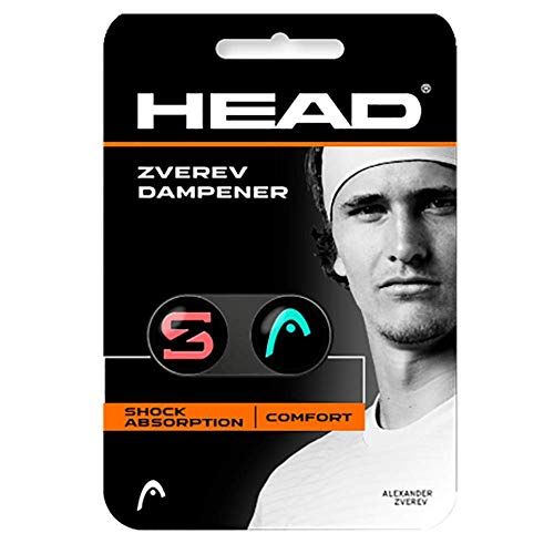 HEAD Zverev Dampener 2 pcs Pack Teal/hot - Vibrationsdämpfer Head