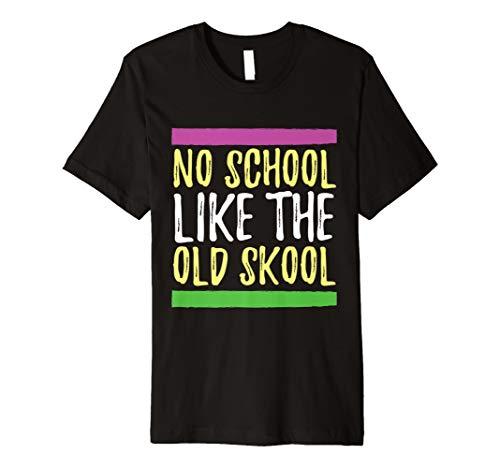 (Retro 90er Hip Hop T shirt für Old School 90er Jahre Fan)