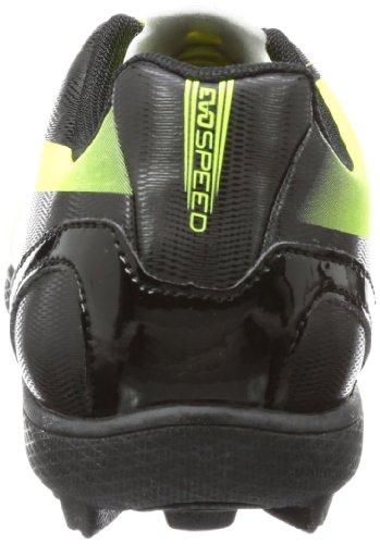 Puma evoSPEED 5.2 TT Jr 102888, Scarpe da calcio Unisex bambini Nero (Schwarz (black-fluo yellow 01))