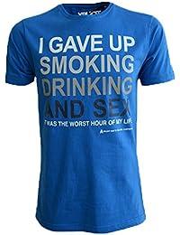 Hommes Xplicit Etaux Slogan De La Nouveauté Imprimé T Shirt
