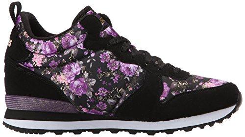 Skechers Og 85hollywood Rose Damen Sneakers Schwarz (Bkpr)