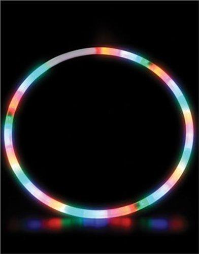 Rhode Island Novelty 71,1cm LED-beleuchteten Twist Hula Cosmic Glow zerlegbar Hoop (, Sortiert, 1)