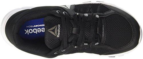 Reebok Damen Yourflex Trainette 9.0 Mt Sneaker Low Hals Schwarz (Blk/wht/asteroid Dust/silver Met/grey)