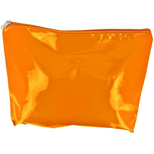 Promobo -Maxi Trousse De Toilettes Maquillage Imprimé People PVC Orange