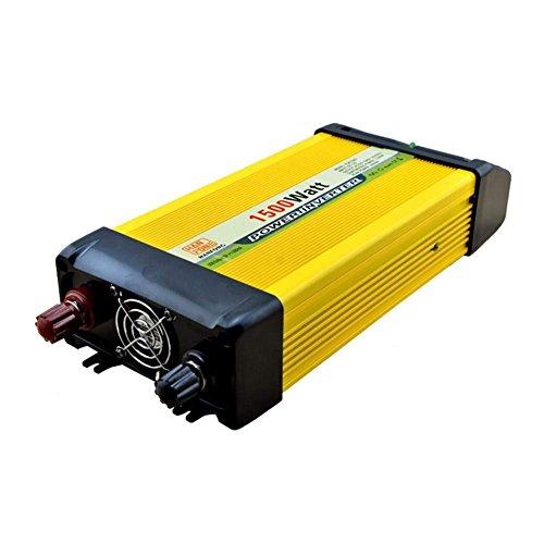DWAN35 Portable Wechselrichter DC 12 V zu 220 V AC Solar PV Auto-konverter 1500 Watt für Outdoor Camping Kühlschrank Handy Laptop