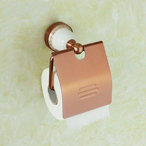 espacio-de-aluminio-de-oro-rosa-base-de-cermica-papel-higinico-rollos-de-toallas-de-rack-con-tablero