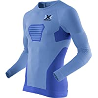 X-Bionic M/L Running Speed EVO Camiseta, Hombre, Azul Marino/Gris (Antracita), S