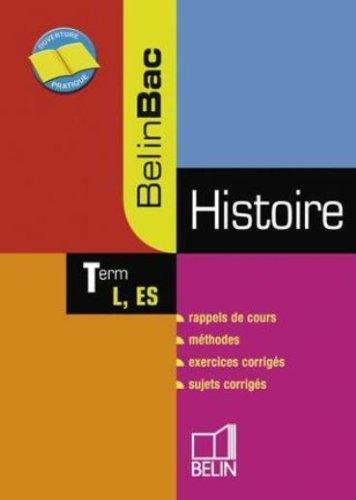 Histoire Tle L, ES par Jean-Christophe Delmas