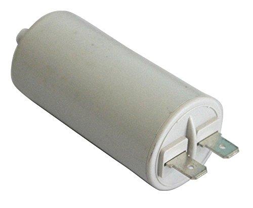 Preisvergleich Produktbild Aerzetix -Kondensator ständigen Arbeitsprogramm für Motor 3µF 450V mit 6,3 mm Anschlüssen