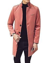 4bb36b7acc Amazon.it: trench uomo - Arancione / Uomo: Abbigliamento