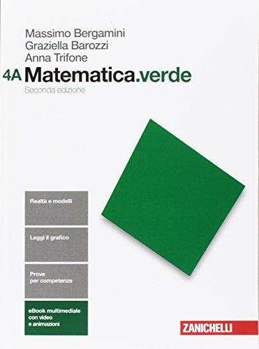 Matematica.verde. Per le Scuole superiori. Con Contenuto digitale (fornito elettronicamente)