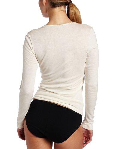Hanro Damen Unterhemd Woolen Silk Elfenbein (Cygne )