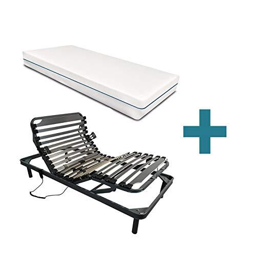 Duermete Cama Eléctrica Articulada 5 Planos Reforzada