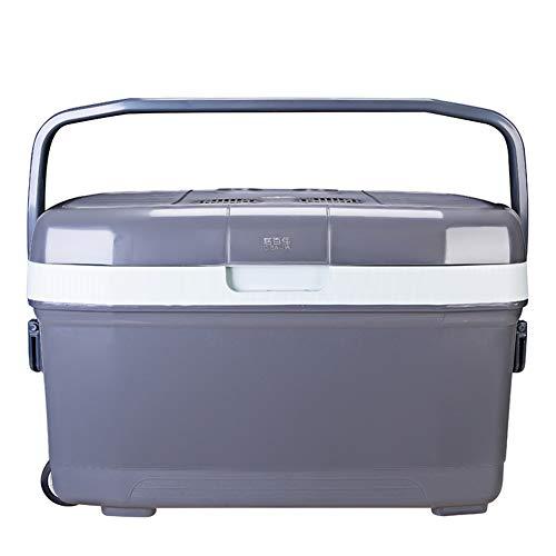 TYX-ALEIYOU Kleine Mini Auto Kühlschrank Thermoelektrische Kühlbox Mit Rad Mobile Mini Auto Kühlschrank Reise Camping Picknick
