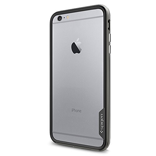 Spigen iPhone 6 Plus Case Neo Hybrid EX Series Gunmetal SGP11057 (Spigen 6 Series Iphone Neo Hybrid)