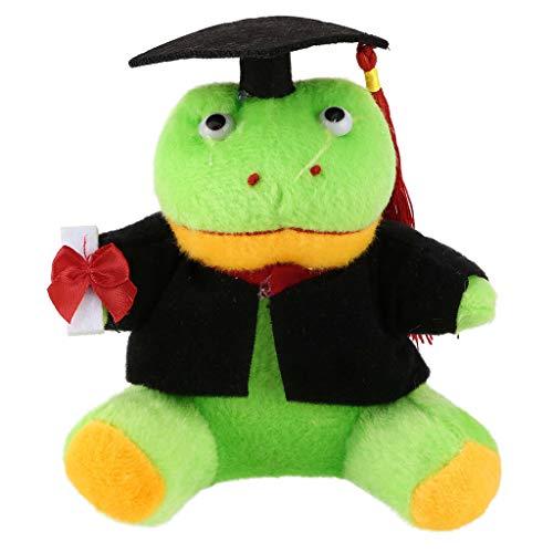 Myfilma ◔◡◔ Geschenke für Sie jetzt Klasse von 2019 Plüsch-Abschlussspielzeug mit Hut, Hund/Ente/AFFE/Panda/Frosch-Cartoon-Plüschtier