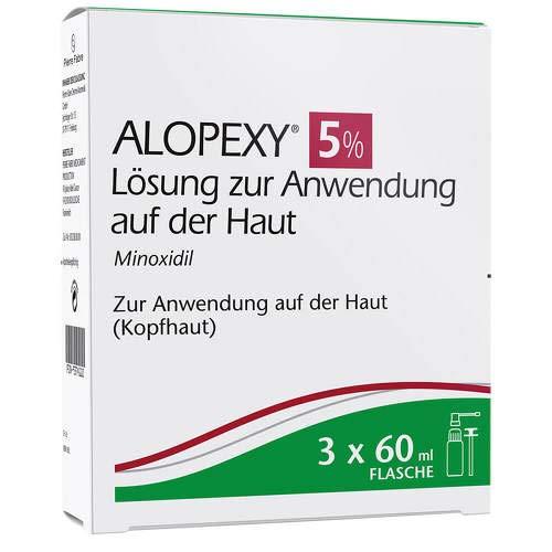 Alopexy 5%, 3x60 ml Lösung
