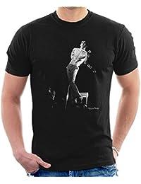 Howard Barlow Official Photography - Iggy Pop Manchester Apollo 1977 Men's T-Shirt