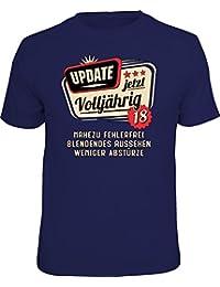 Original RAHMENLOS® T-Shirt zum 18. Geburtstag: Update, jetzt Version 18