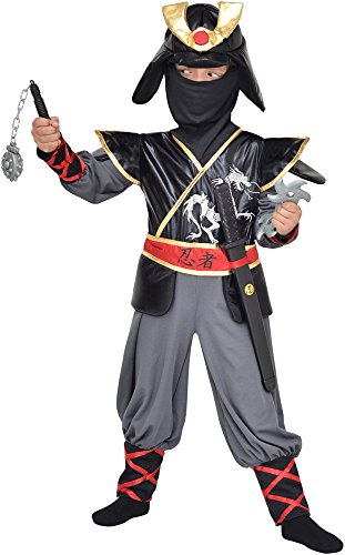 Bote-Vitrine-Dguisement-Ninja-Prestige-Enfant